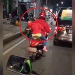 Viral, Video Anak Kecil Dibonceng Hampir Jatuh, Mengantuk Saat Berkendara + Tips Anti Ngantuk