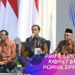 Selamat dan Sukses Pengumuman Kabinet Baru Indonesia Maju Oleh Presiden Jokowi Untuk Periode 2019-2024